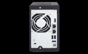 QNAP 2-Bay TS-251+ 2GB Quad Core NAS