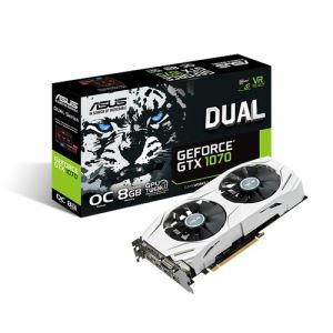 Asus GTX 1070 Dual OC 8GB Graphics Card