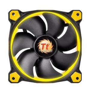 120MM Thermaltake RIING Yellow LED Rad Fan