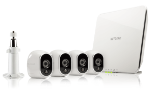 Arlo Wireless Security System With 4 HD Cameras
