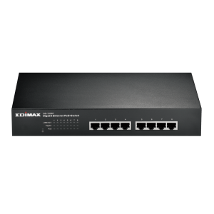 Edimax 8-Port Gigabit Ethernet PoE+ Switch - Fanless
