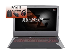 "ASUS G752VS 17.3"" FHD Intel Core i7 Gaming Laptop Includes Bag Headset Mouse"