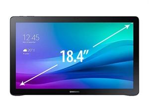 "Samsung Galaxy Tab View 18.4"" Tablet - Black"