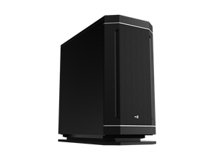 Aerocool DS230 Bitumen Mid Tower Case - Black