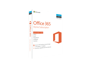 Microsoft Office 365 Home 1 Year Subscription (No Media)