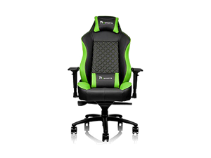 Thermaltake GTC500 Comfort Gaming Chair - Black & Green