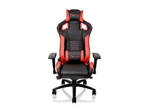 Thermaltake GTF100 Fit Gaming Chair - Black & Red