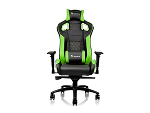 Thermaltake GTF100 Fit Gaming Chair - Black & Green