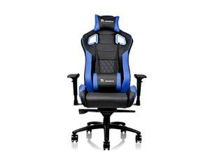 Thermaltake GTF100 Fit Gaming Chair - Black & Blue