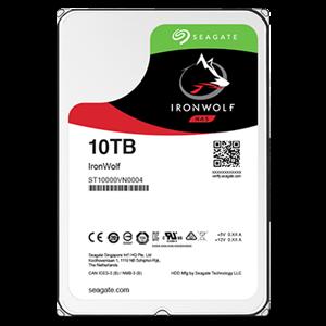 "Seagate 10TB Ironwolf 3.5"" NAS Drive"