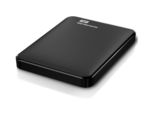 "Western Digital 2TB Elements Portable Hard Drive 2.5"" USB 3.0 (WDBU6Y0020BBK-PESN)"