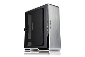 In Win Chopin Mini ITX Case with 150W 80+ Bronze PSU - Silver