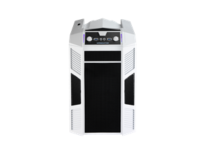 Aerocool X-Predator Cube Mini Tower Case - White