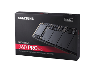 Samsung 960 Pro 512GB M.2 (2280) Solid State Drive
