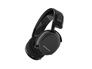 SteelSeries Arctis 7 Wireless 7.1 Gaming Headset with DTS - Black
