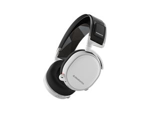 SteelSeries Arctis 7 Wireless 7.1 Gaming Headset with DTS - White