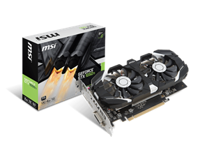 MSI GTX 1050Ti 4GT Gaming 4GB Graphics Card