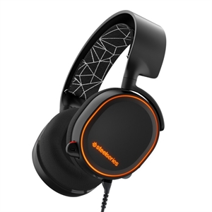 Steelseries Arctis 5 RGB 7.1 Surround Gaming Headset - Black