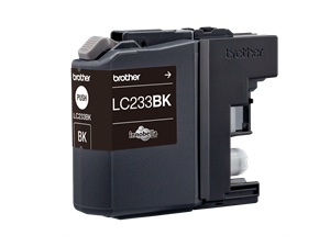 Brother LC-233BK Black Ink Cartridge 550 Pages