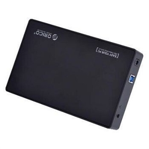 "Orico 3588US3-BK USB3.0 Tool Free 3.5"" Black HDD Enclosure"