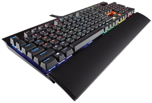 Corsair K70 Gaming RGB LUX Cherry MX Brown Mechanical Keyboard