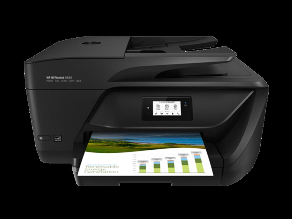 Hp officejet 6950 all in one inkjet printer t3p03a for Best home office hp inkjet printer