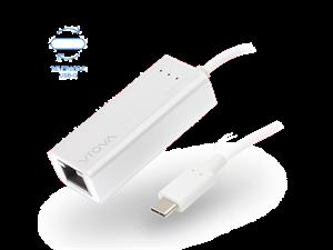 VROVA PLUS USB-C to Gigabit Ethernet Adapter - Aluminium