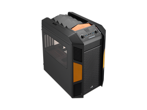 Aerocool X-Predator Cube Case - Black Orange