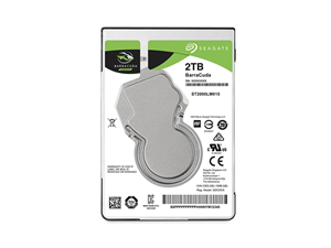 "Seagate Barracuda 2TB 2.5"" Notebook Hard Drive"