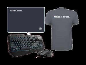 Cooler Master Octane Combo + Shirt + MousePad