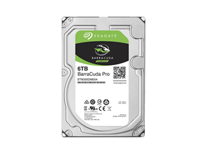 "Seagate Barracuda Pro 6TB 3.5"" Internal Hard Drive + 2 Years Data Recovery - ST6000DM004"