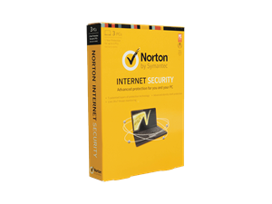 Norton Symantec Internet Security - 3 PCs 1 Year
