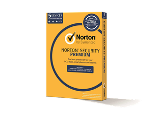 Norton Symantec Internet Security Premium - 5 PCs 1 Year