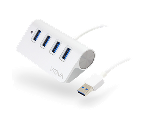 VROVA Elite 4 Port USB3.0 HUB - Aluminium