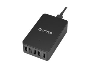 Orico 40W 5 Port Smart USB Desktop Charger - Black