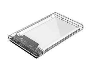 "Orico 2.5"" USB3.0 Transparent Hard Drive Enclosure"