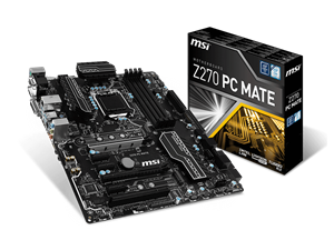 MSI Z270 PC Mate Intel Motherboard