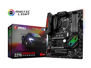 MSI Z270 Gaming Pro Carbon Intel Motherboard
