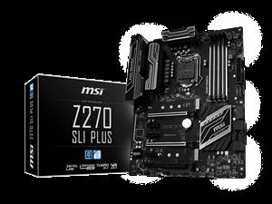 MSI Z270 SLI Plus Intel Motherboard