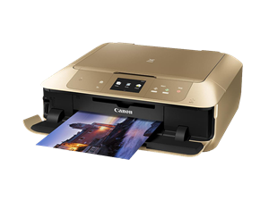 Canon Pixma MG7766 Home Advanced Multi Function Printer - Gold