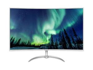 "Philips BDM4037UW 40"" 4K UHD Curved Monitor with MultiView"