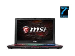 "MSI GE62VR 7RF Apache Pro 15.6"" FHD Intel Core i7 Gaming Laptop"