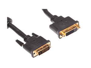 Goldwire 2m DVI Dual Link Cable Male to Female