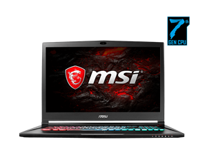 "MSI GS73 Stealth Pro 17.3"" UHD Intel Core i7 Gaming Laptop"