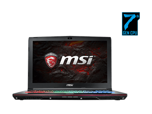 "MSI GE62 Apache 7RD-237AU 15.6"" FHD i7 GTX 1050 Gaming Laptop"