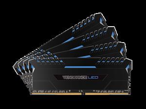 Corsair Vengeance LED 32GB (4 x 8GB) DDR4 3000MHz C15 Memory Kit - Blue LED