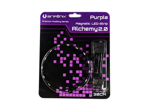 BitFenix Alchemy 2.0 30cm PURPLE Magnetic LED Strip