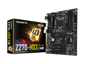 Gigabyte Z270-HD3 Intel Motherboard