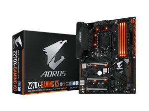 Gigabyte Aorus Z270 Gaming K5 Intel Motherboard