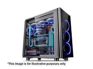 Thermaltake View 21 Tempered Glass Mid Tower Case